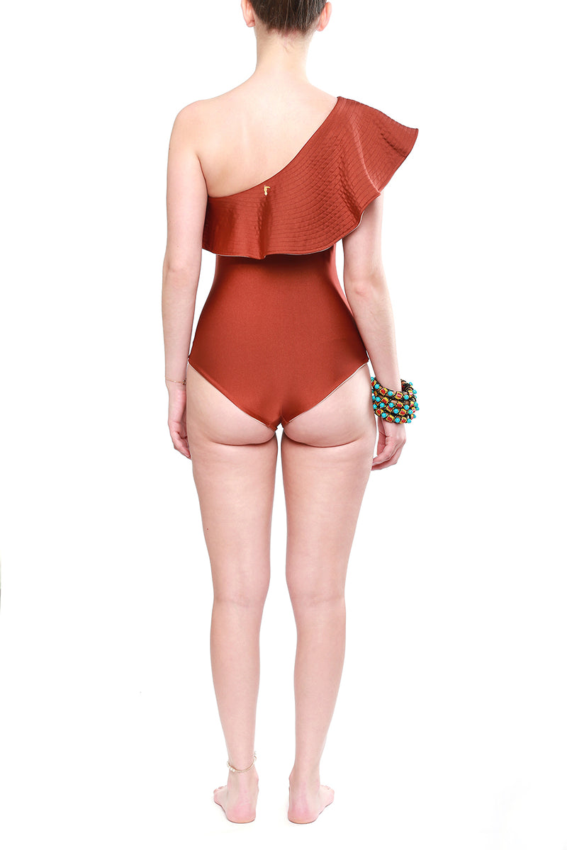 One Piece Tucan Nude &Terracota