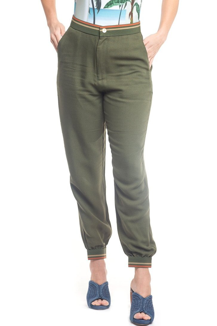 Pants Green Savana