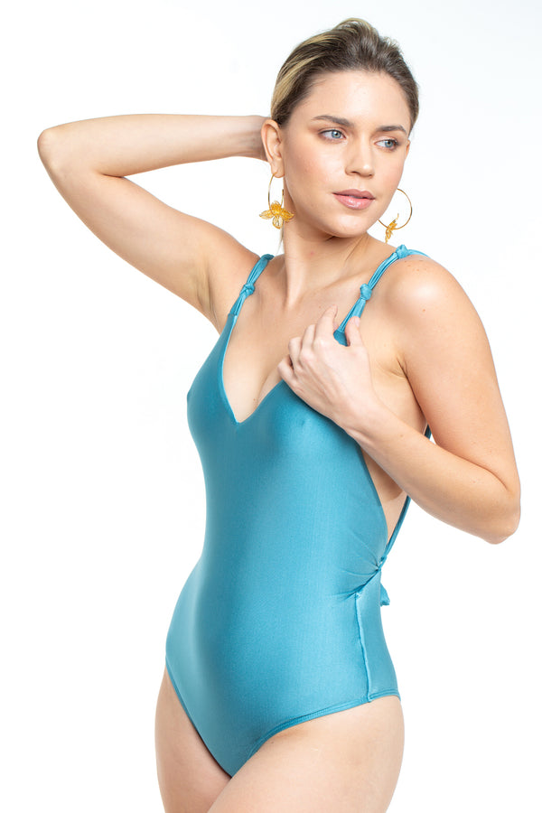 Africa Blue Swimsuit