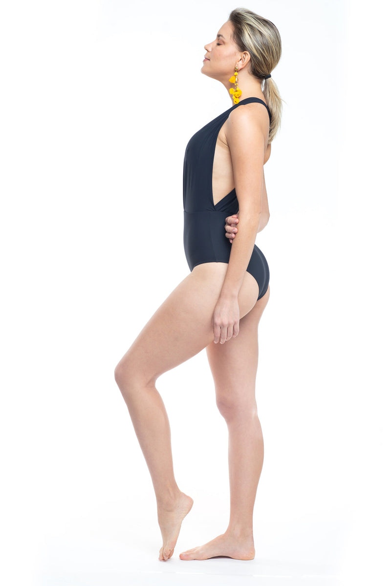 Bia One Piece Swimsuit Black