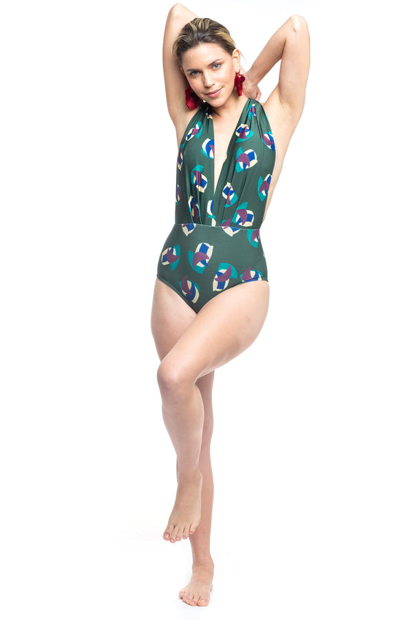 Bia One Piece Disc Swimsuit
