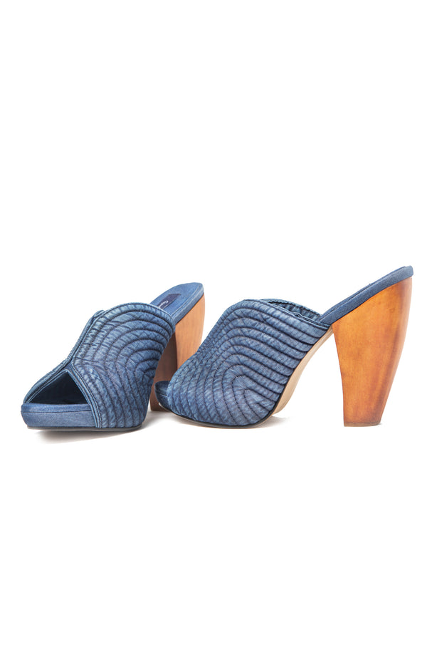 Mules Dark Blue
