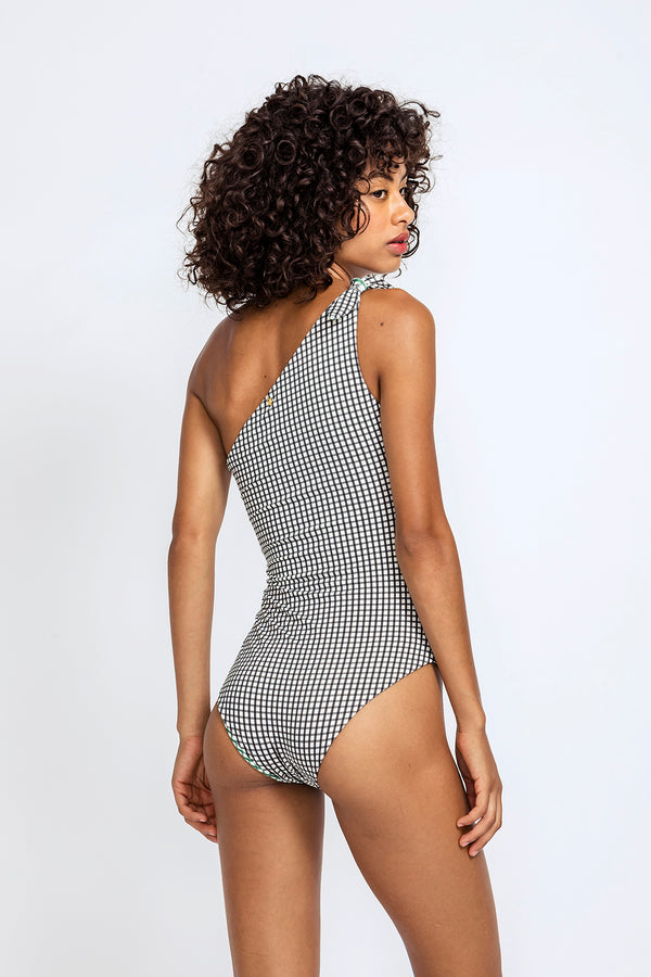 Capri One Shoulder Swimsuit