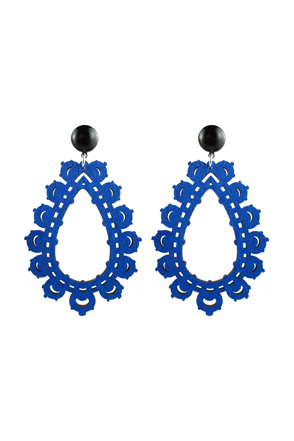 Krina Earrings Blue