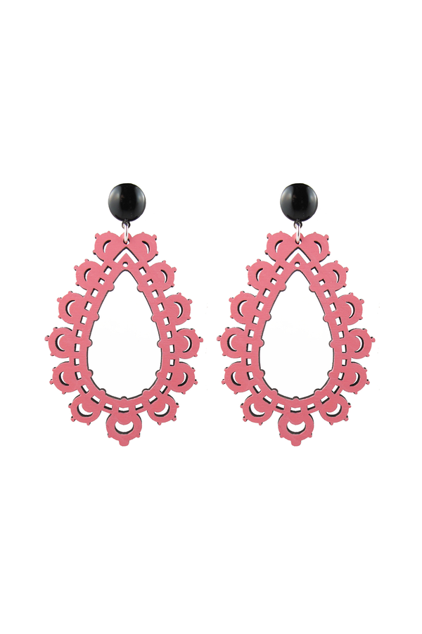 Krina Earrings Light Pink