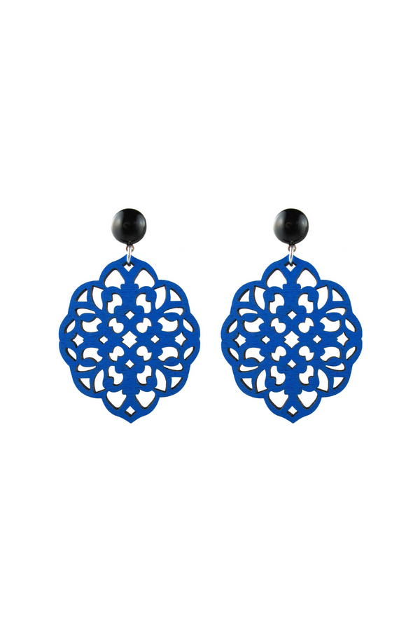 Rima Earrings - Blue