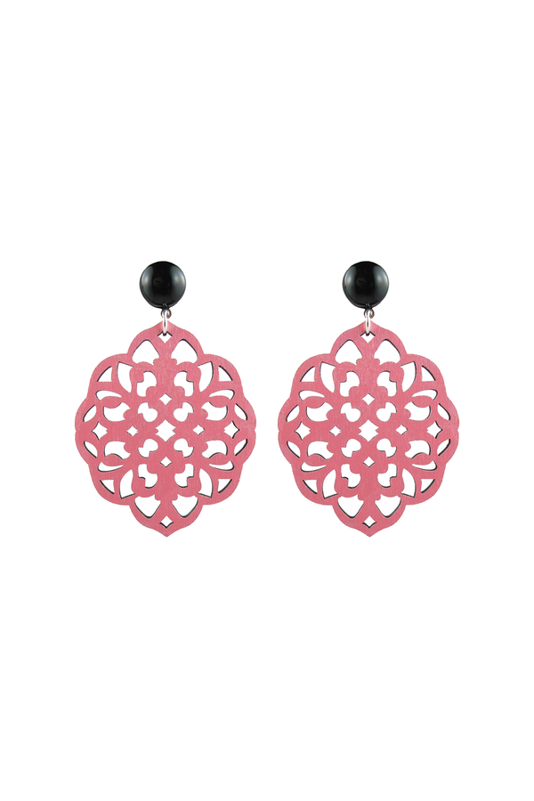 Rima Earrings Light Pink