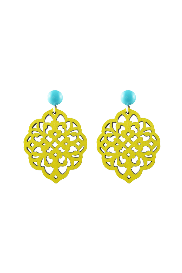 Rima Earrings - Yellow