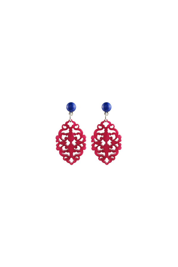 Satya Earrings Pink