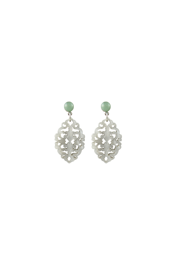 Satya Earrings Shell