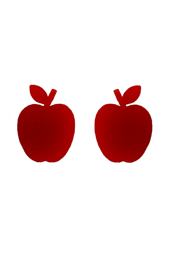 The Private Apple + Katie Bartels Apple Earrings