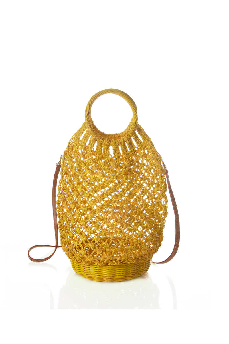 Lara Yellow Bag