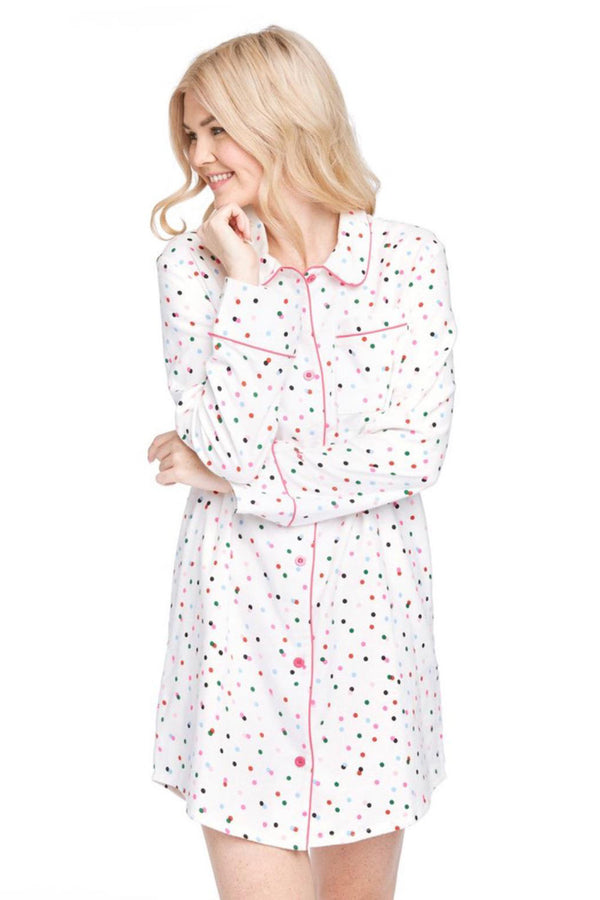 Leisure Dress Party Dots