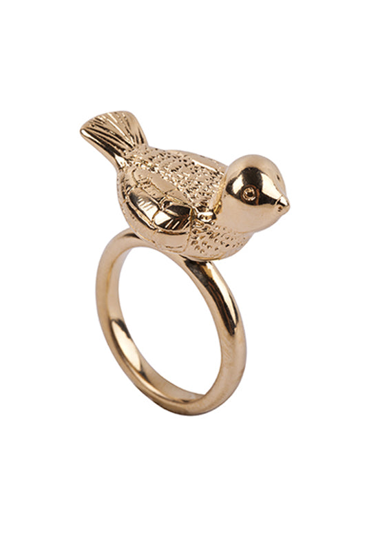 Small Bird Ring Gold