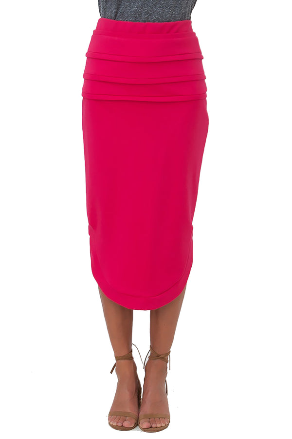Angelina Pink Track Skirt