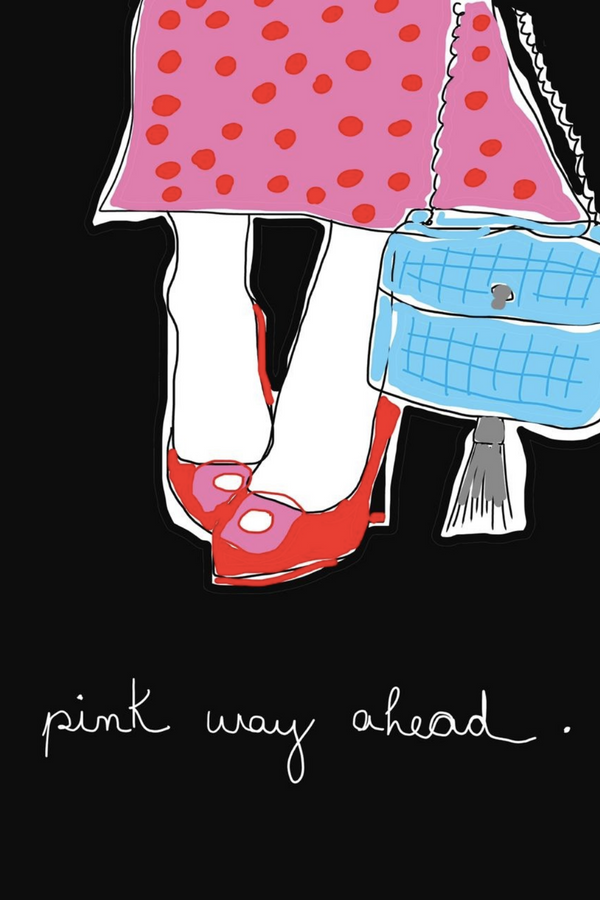 Pink Way Ahead by Jamile Sayao
