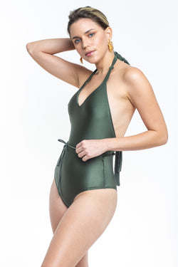 Africa Green Swimsuit