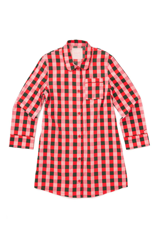 Leisure Dress Buffalo Plaid