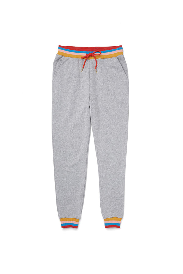 Heather Grey Slim Sweatpants
