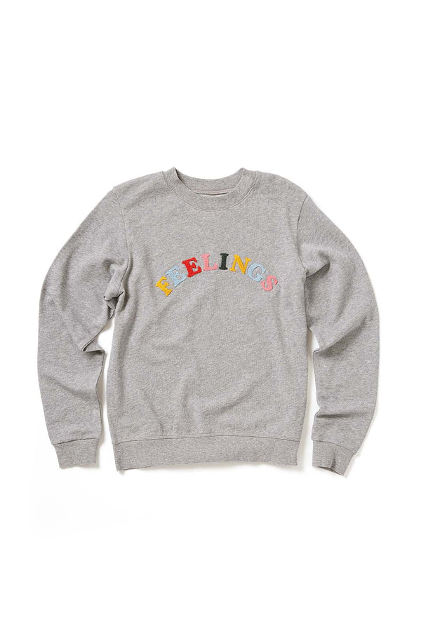 Feelings Sweatshirt in grey