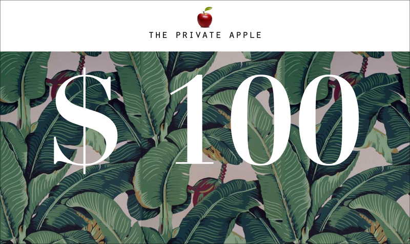 Gift Card The Private Apple