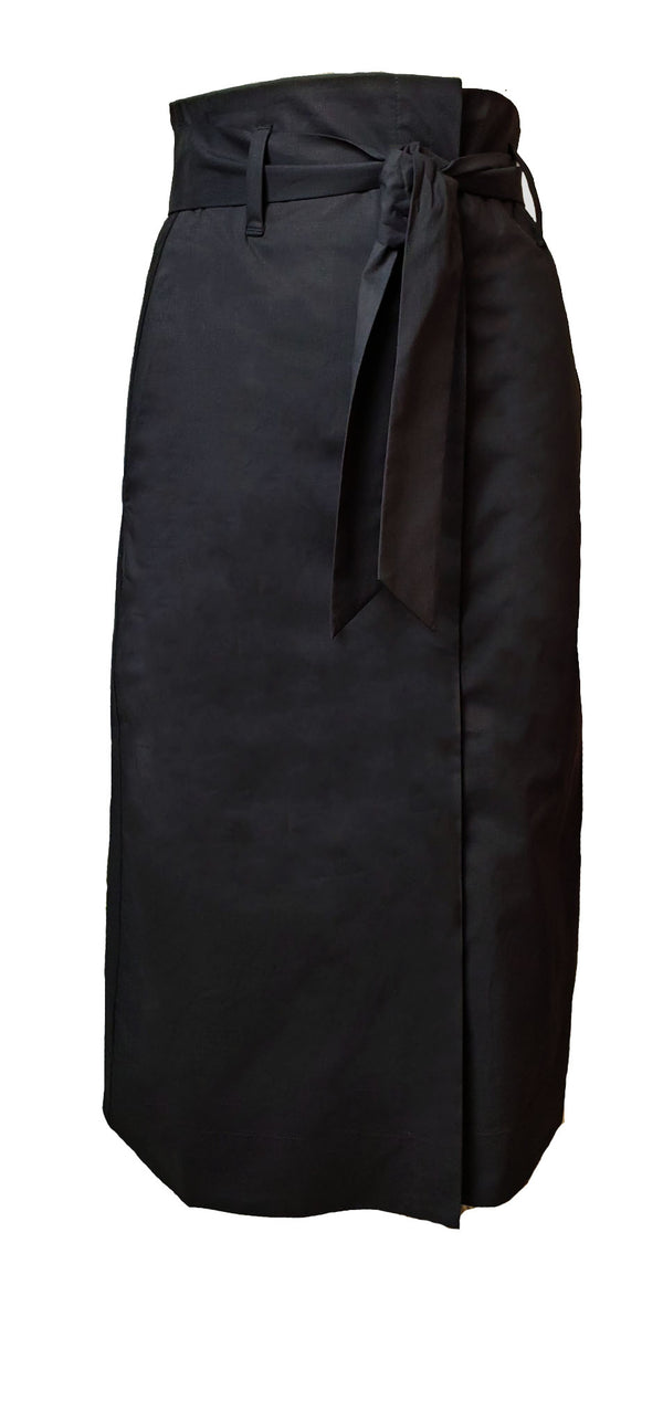 Papel Midi Skirt Black