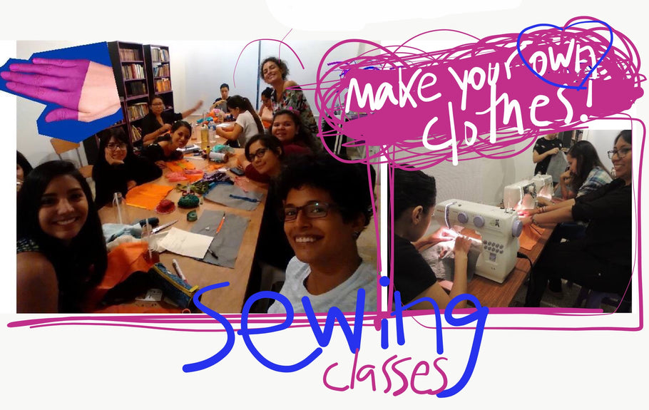 up-cycling SEWING workshops