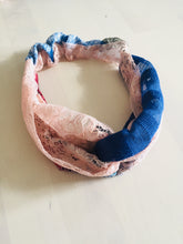 Load image into Gallery viewer, Twist front headband, sustainable,  made in London