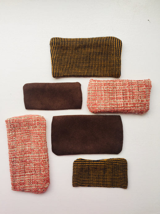 square, patches, pink, brown, texture, mend, mending, terra-cotta, jersey, woven