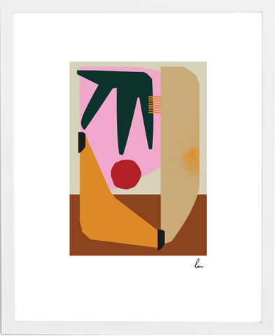 Collect abstract 'Breakfast in Bed' by Luisa Salas for your home — signed, framed and starting at $150.