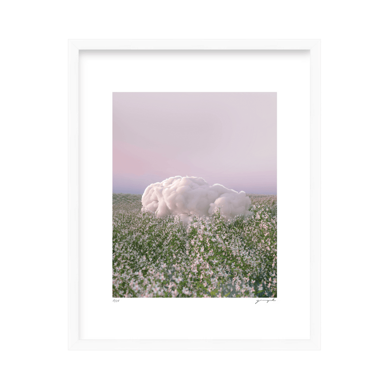 'Lazy Cloud' Limited Edition Print Yomagick