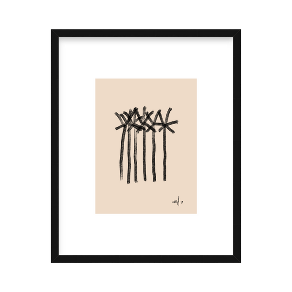 'Date Palms' Limited Edition Print Delta Venus