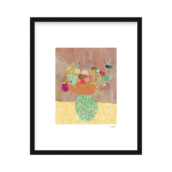 'Floral Arrangement' Limited Edition Print Emma Repp