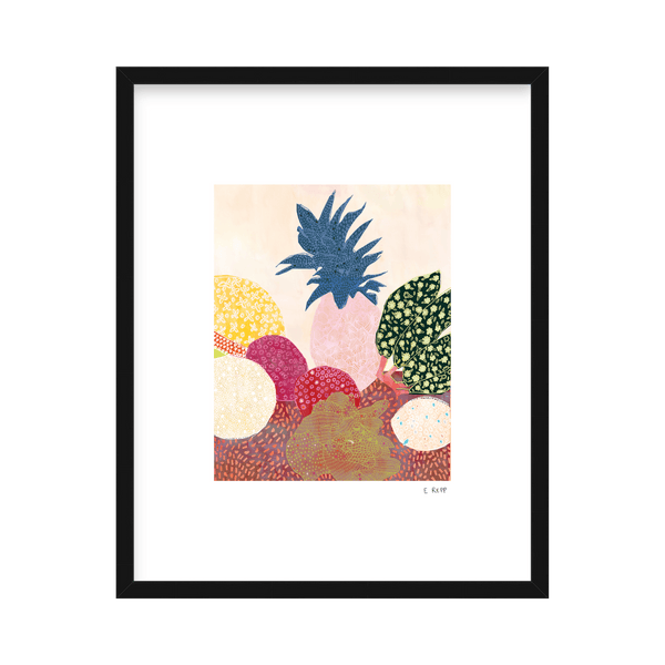 'Tropical Arrangement' Limited Edition Print Emma Repp