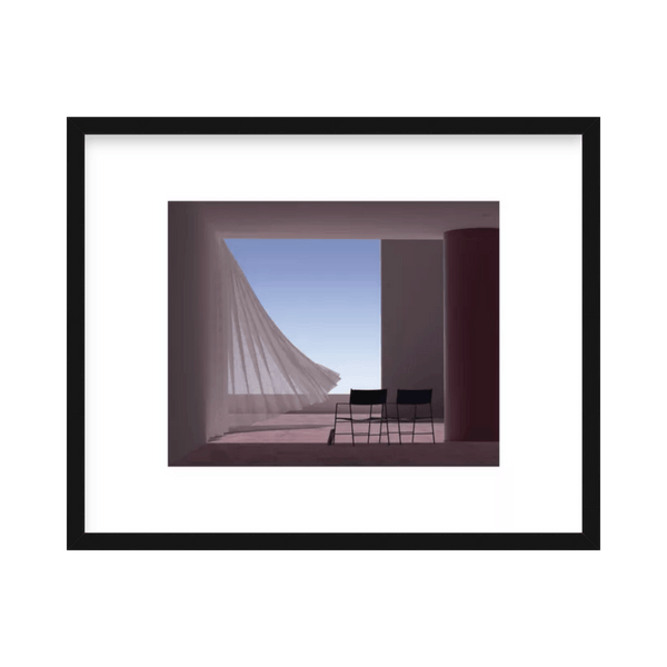 'The Space is Just a Frame' Limited Edition Print Andres Reisinger