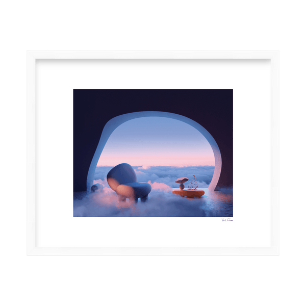 'Through The Clouds' Limited Edition Print Visual Citizens