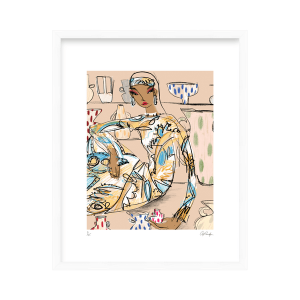 'Homeware' Limited Edition Print Anjelica Roselyn