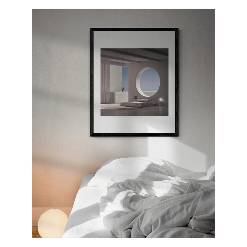'When Lights are Low' Limited Edition Print Andres Reisinger