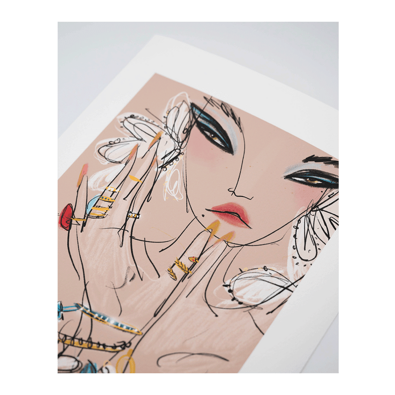 'Opulence' Limited Edition Print Anjelica Roselyn