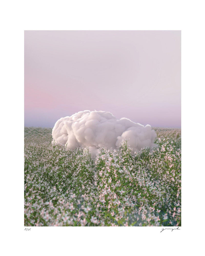 'Lazy Cloud' Limited Edition Print Yomagick 8x10""
