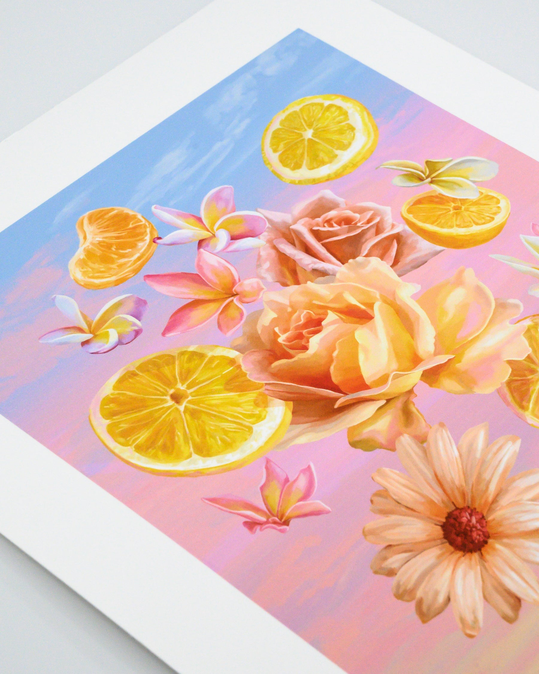 Kit Keenan Collects Fruit & Flowers for Her Kitchen Image