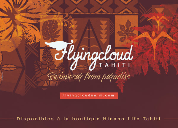 Flyingcloud swimwear Tahiti