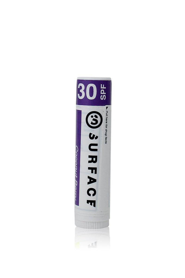 SPF30 LIP BALM .15OZ. - COCONUT BERRY - SURFACE Flyingcloud Swim TAHITI