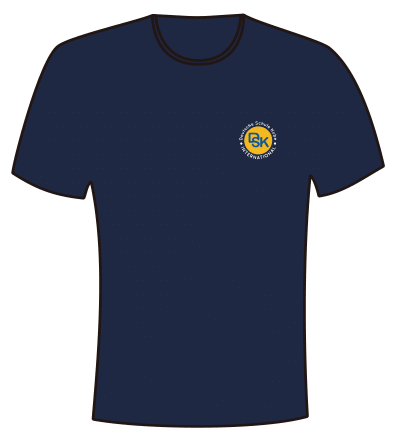DSK T-SHIRTS NAVY (POLYESTER)