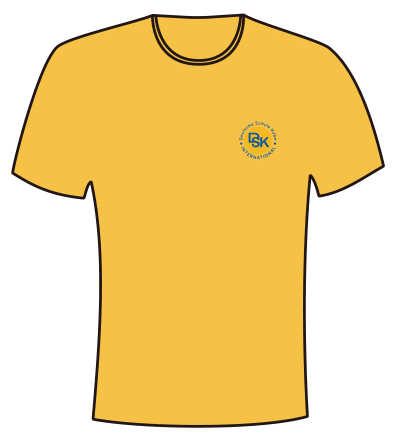 DSK T-SHIRTS YELLOW (POLYESTER)
