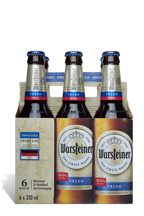 Warsteiner 0% Alcohol Beer 6 Pack