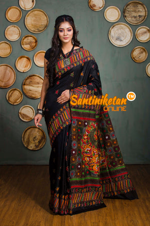 Kantha Stitch Saree SN20182307