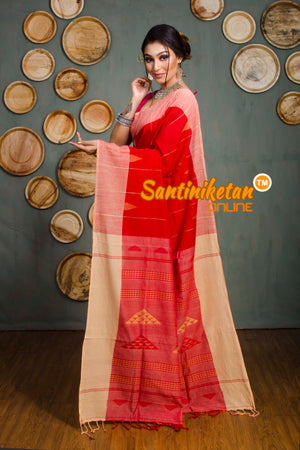 Khaddi Cotton Jamdani Saree SN2018723