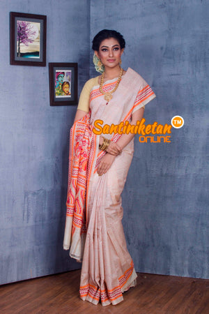 Traditional Kantha Stitch Saree SN2018873