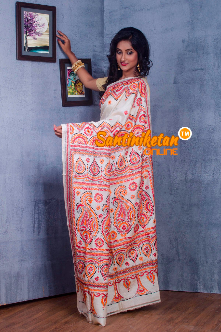 Traditional Kantha Stitch SN2018906